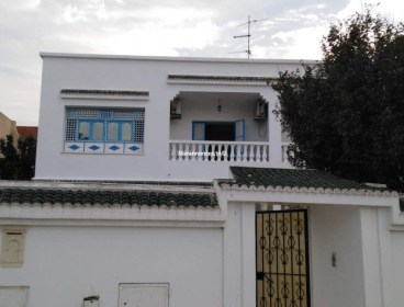 Etage de villa S+2 à louer
