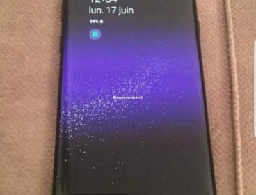 un Samsung Galaxy s8