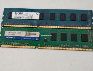 80 TND 2 Barrette Mémoire DDR3 4Go Pc Bureau