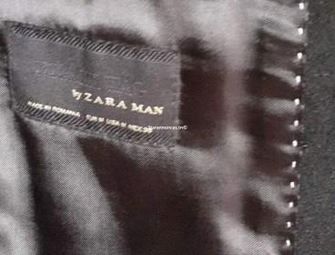 monteau zara très classe pur laine neuf porté une seule fois blue marine