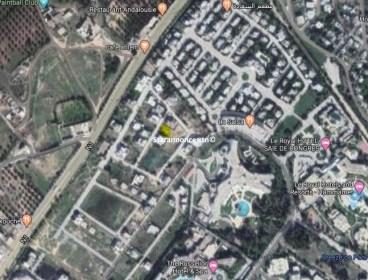 Terrain à vendre Coté Hotel Impérial Hamammet Sud