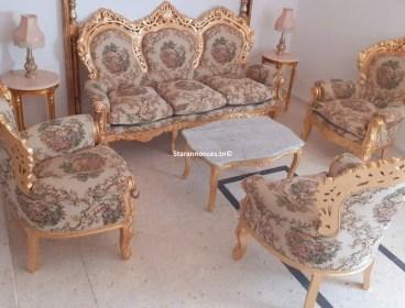 salon baroque Roméo&juliette