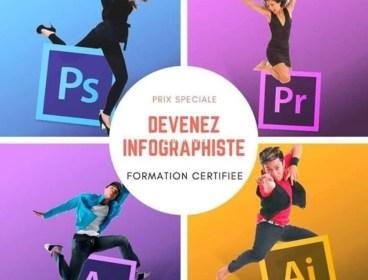 Devenez Designer & Infographiste dans un Mois et seulement à 225 DT !!