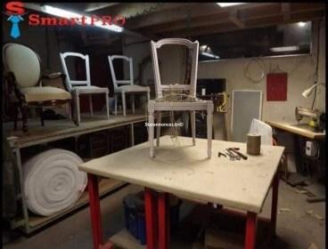 formation en fabrication et tapisserie des meubles