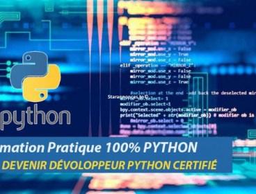 Formation Python Certifiante