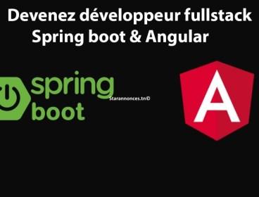 Devenez un développeur Full Stack : Spring Boot & Angular Confirmé !