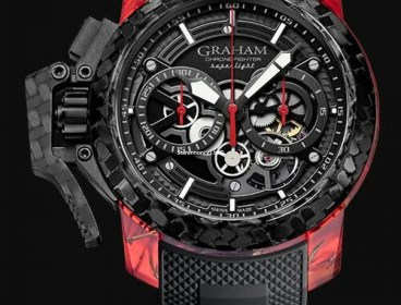 GRAHAM LONDON 2OVGS.B12A.C118S Chronofighter Oversize GMT replica watch