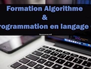 Formation Algorithmique Programmation langage C