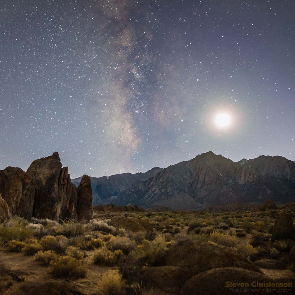 Plush Moon Sagittarius Over Lone Pine Peak As Astrophotography Llc Starry Landscape Stacker Windows Alternative Starry Landscape Stacker Download Teapot Asterism dpreview Starry Landscape Stacker