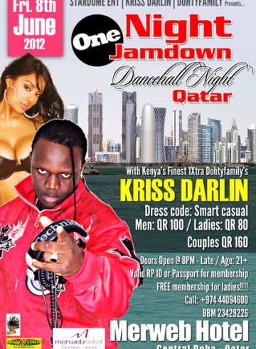One Night Jam Down: Dancehall Night Qatar