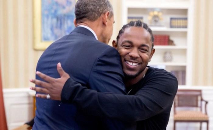 Kendrick Lamar Meet President Obama Talks Mentoring Youths