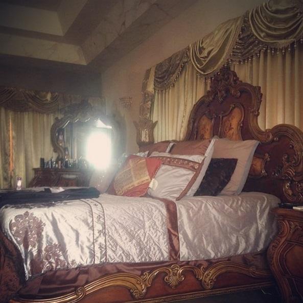 Mavado Shows Off His Master Bedroom Of His Jamaica Mansion