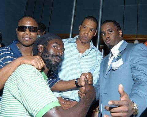 PHOTO: JayZ, P Diddy , DJ Dowg E Fresh Visit BUJU in Prison. #Respect!