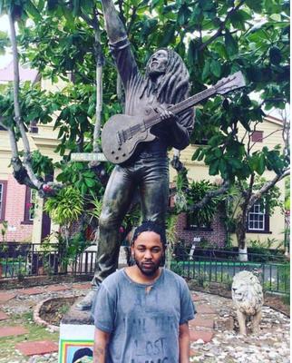 Kendrick Lamar Pays Tribute To Reggae Legend Bob Marley