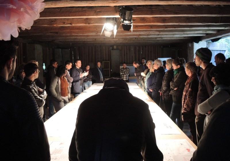 """Ausstellung """"Fluchtraum Österreich"""" im Tonhofstadel in Maria Saal (Foto: Raffaela Lackner)"""