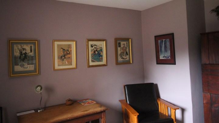 Starlight Llama Bed and Breakfast Lavender Room Art