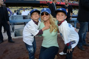Briney Spears and her sons Jayden James and Sean Preston