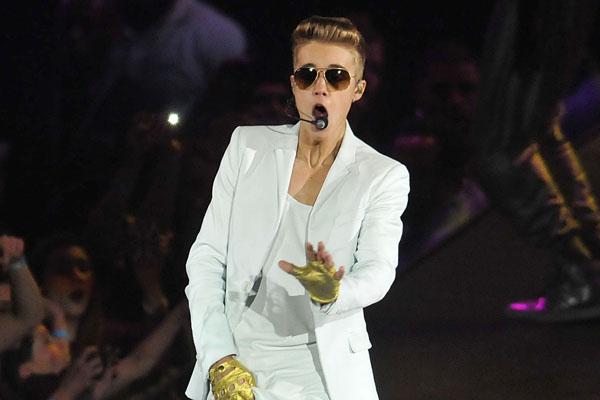 Justin Bieber Performs At The 02 Arena
