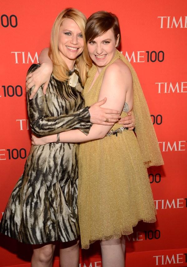 Claire Danes & Lena Dunham