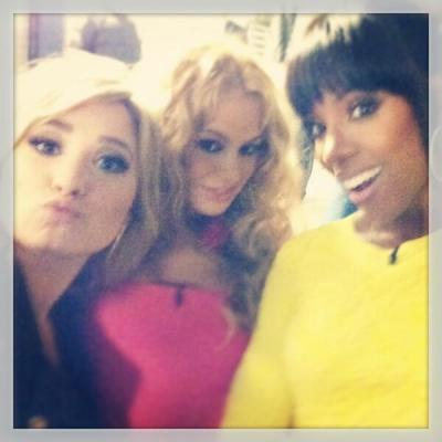 Demi Lovato, Paulina Rubio & Kelly Rowland at 'X-Factor' Auditions