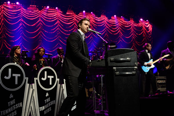 MasterCard Priceless Premieres Presents Justin Timberlake - Show