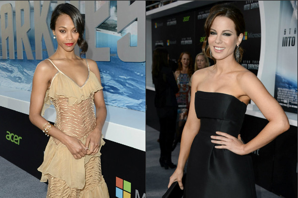 Kerry Washington & Kate Beckinsale at 'Star Trek Into Darkness' Premiere