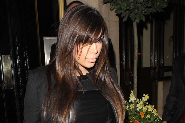 Kim Kardashian Sighting In London - May 1, 2013
