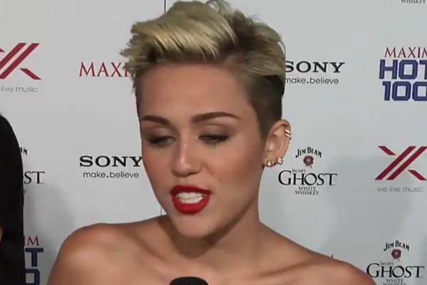 Miley Cyrus at Maxim Hot 100 Party