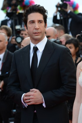 US actor David Schwimmer arrives for the