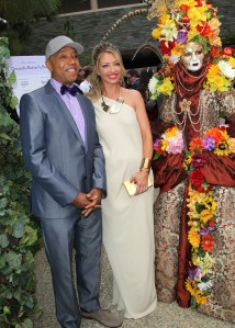 Russell Simmons & Rebecca Gayheart