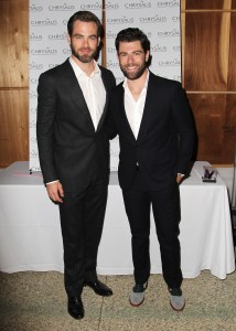 Chris Pine & Max Greenfield