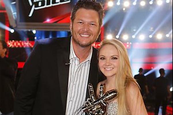 Blake Shelton & Danielle Bradbery