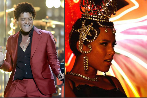 Bruno Mars & Alicia Keys