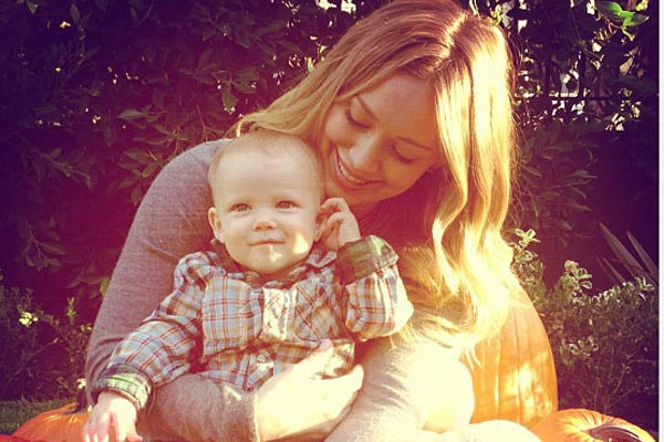 Hilary Duff & Luca