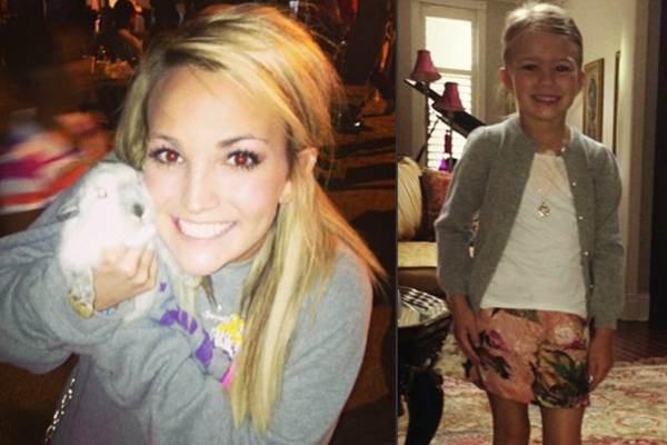 Jamie Lynn Spears and Daughter Maddie
