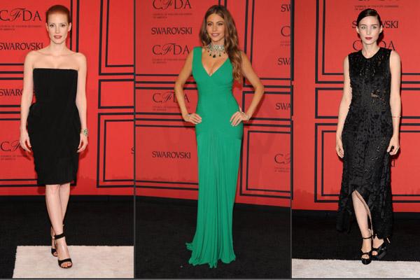Jessica Chastain, Sofia Vergara, Rooney Mara