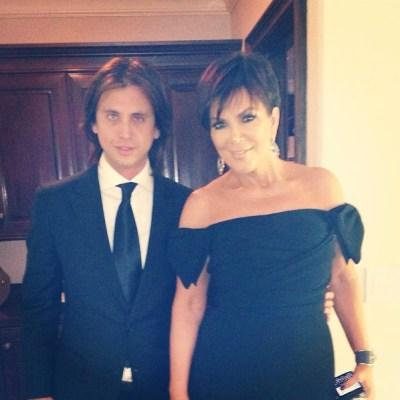 Jonathan Cheban & Kris Jenner