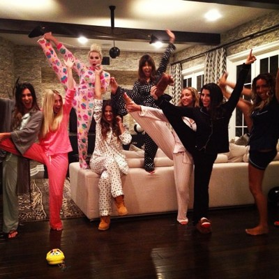 Kardashian & friends sleepover