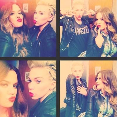Khloe Kardashian & Joyce Bonnelli