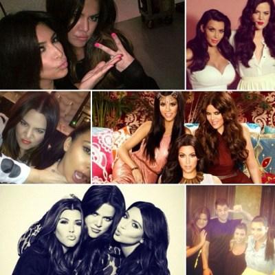 Kardashian collage
