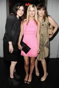 Lauren Tabach, Nicky Hilton & Amy Sacco