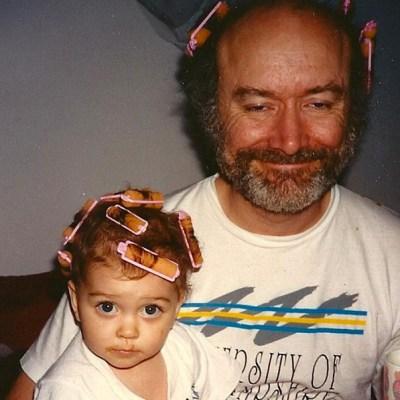 Sarah Hyland father's day
