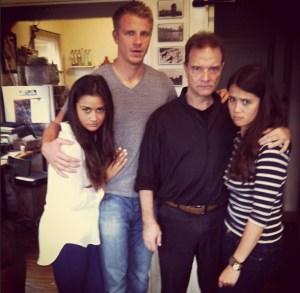 Sean Lowe, Catherine Giudici & her family
