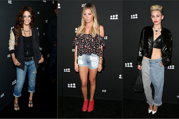 Vanessa Hudgens, Ashley Tisdale, Miley Cyrus