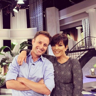 Chris Harrison & Kris Jenner