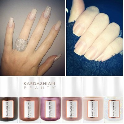 Khloe Kardashian nails