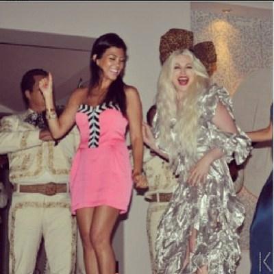 Kourtney Kardashian & Joyce Bonelli