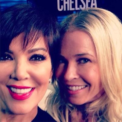 Kris Jenner & Chelsea Handler