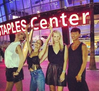 Nicole Richie & friends