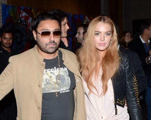 Lindsay Lohan & Vikram Chatwal